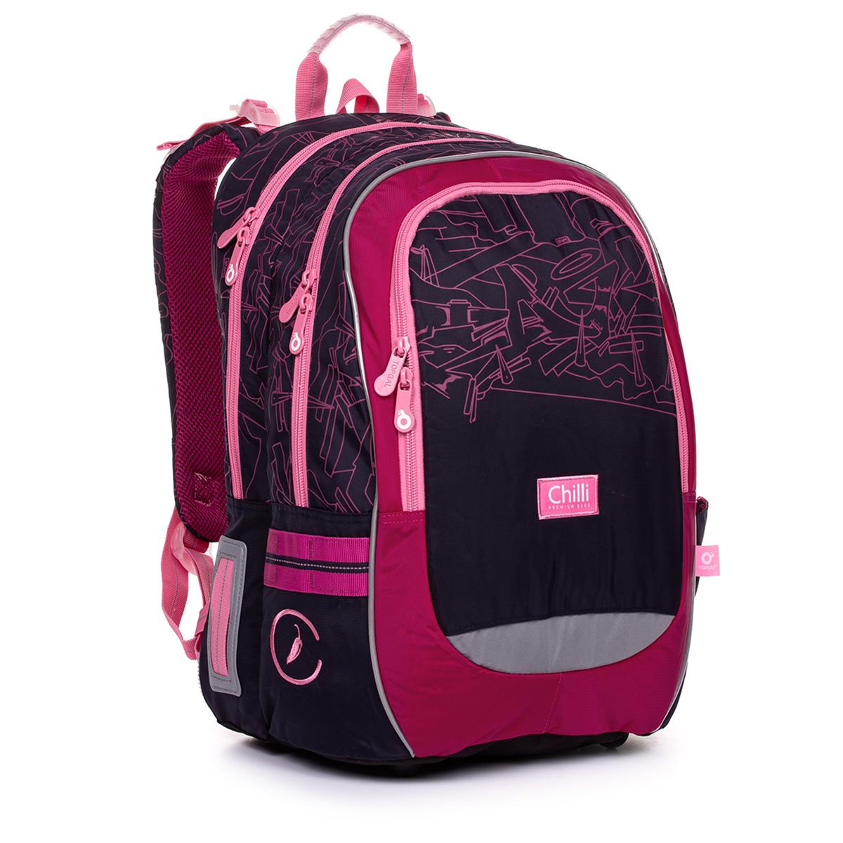 Školská taška Topgal CODA 20009 G