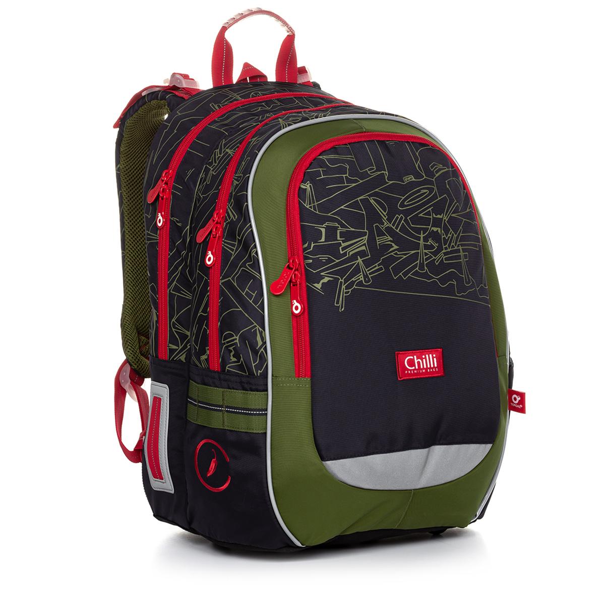 Školská taška Topgal CODA 20020 B