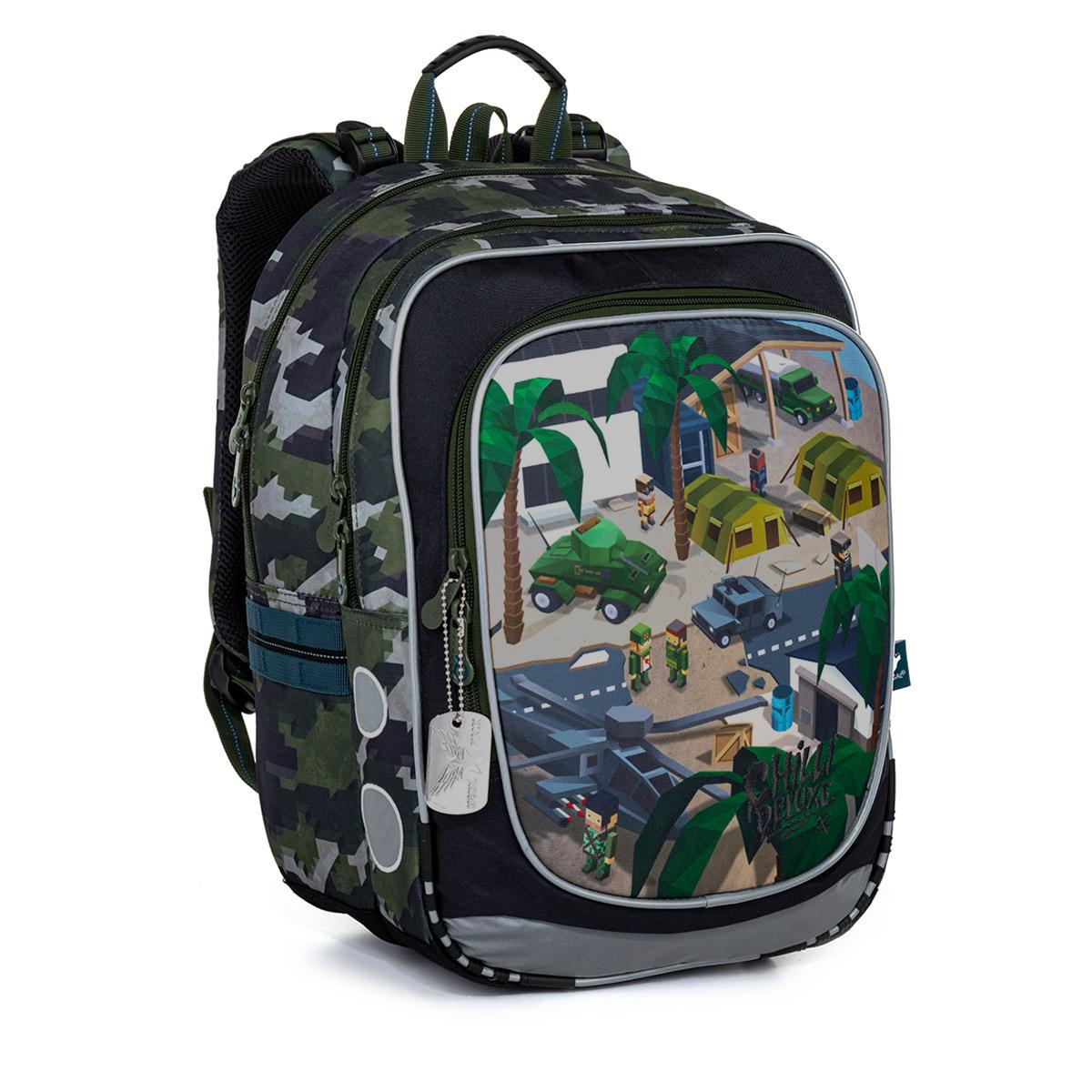 Školská taška Topgal ENDY 21016 B